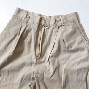 Vintage high waisted khaki pants 11 petite